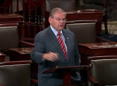 News video: NJ Sen. Bob Menendez Indicted On Federal Corruption Charges