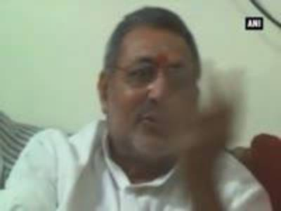 News video: Giriraj Singh takes jibe at Rahul, compares his 'absence' with missing Malaysian Flight
